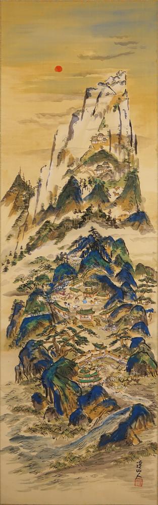 兒_渓仙_蓬莱山