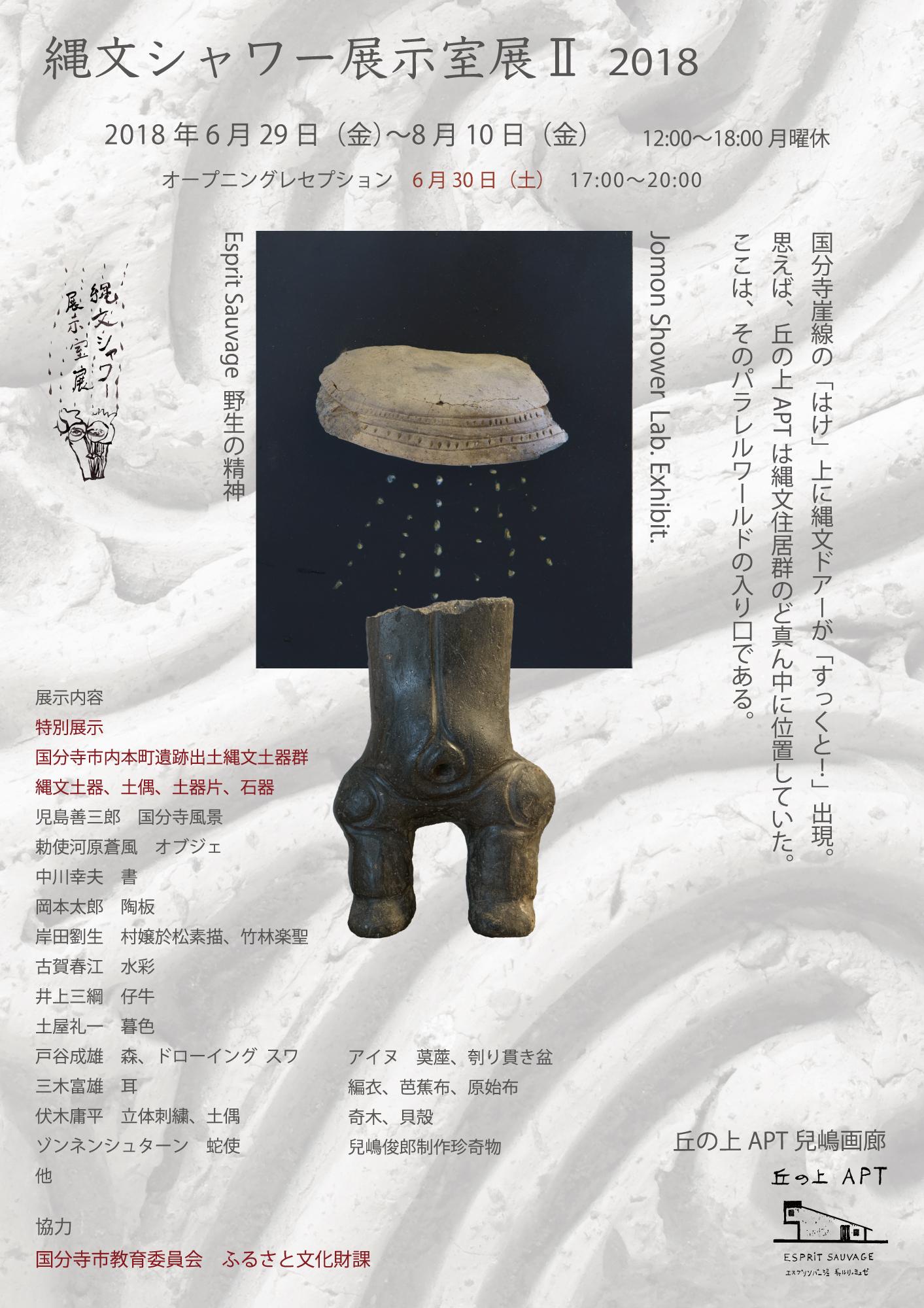 縄文展2018DM表