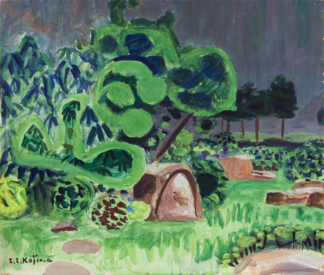 334web庭の雨1938.110_0216